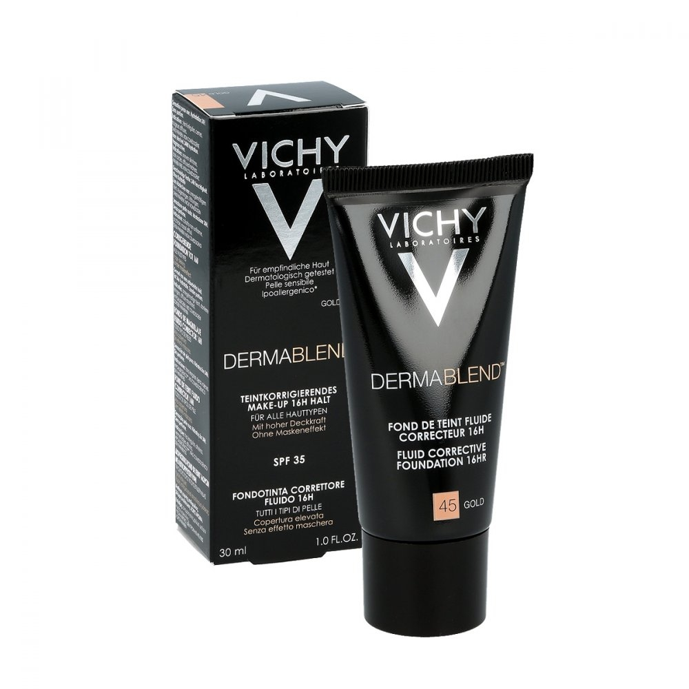Vichy Dermablend Korekční make-up 45 zlatá 30 ml