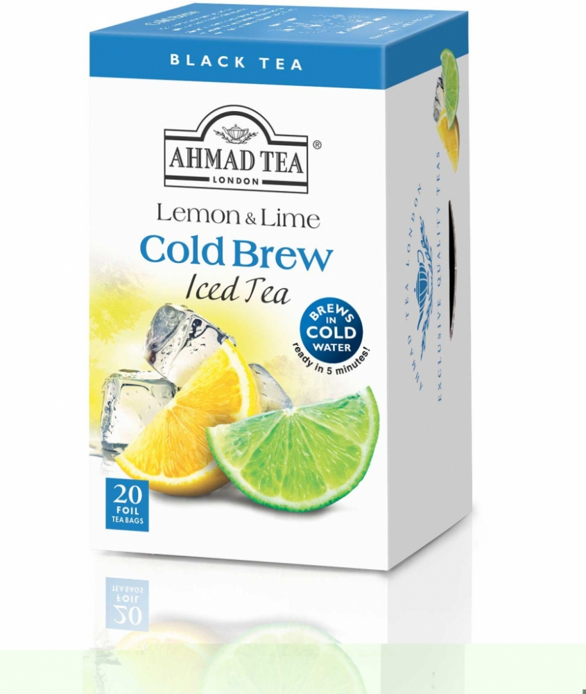 Ahmad Tea Cold Brew Iced Tea Lemon & Lime 20 x 2 g