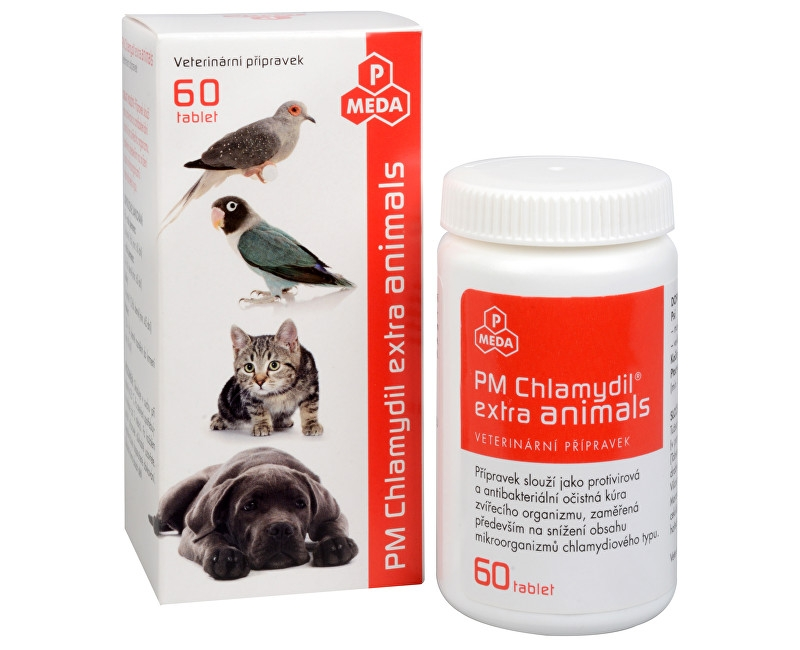 PM Chlamydil extra animals tbl.60