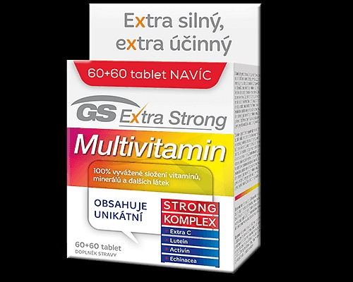 GS Extra Strong Multivitamin tbl.60+60