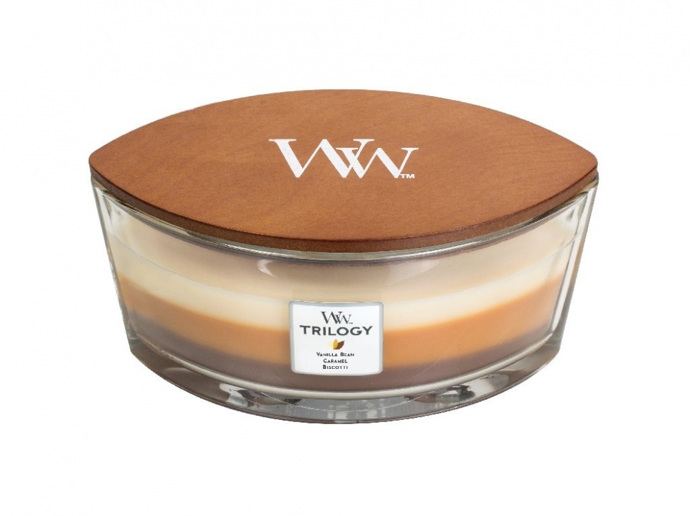 WoodWick Trilogy - Cafe Sweets 453,6 g