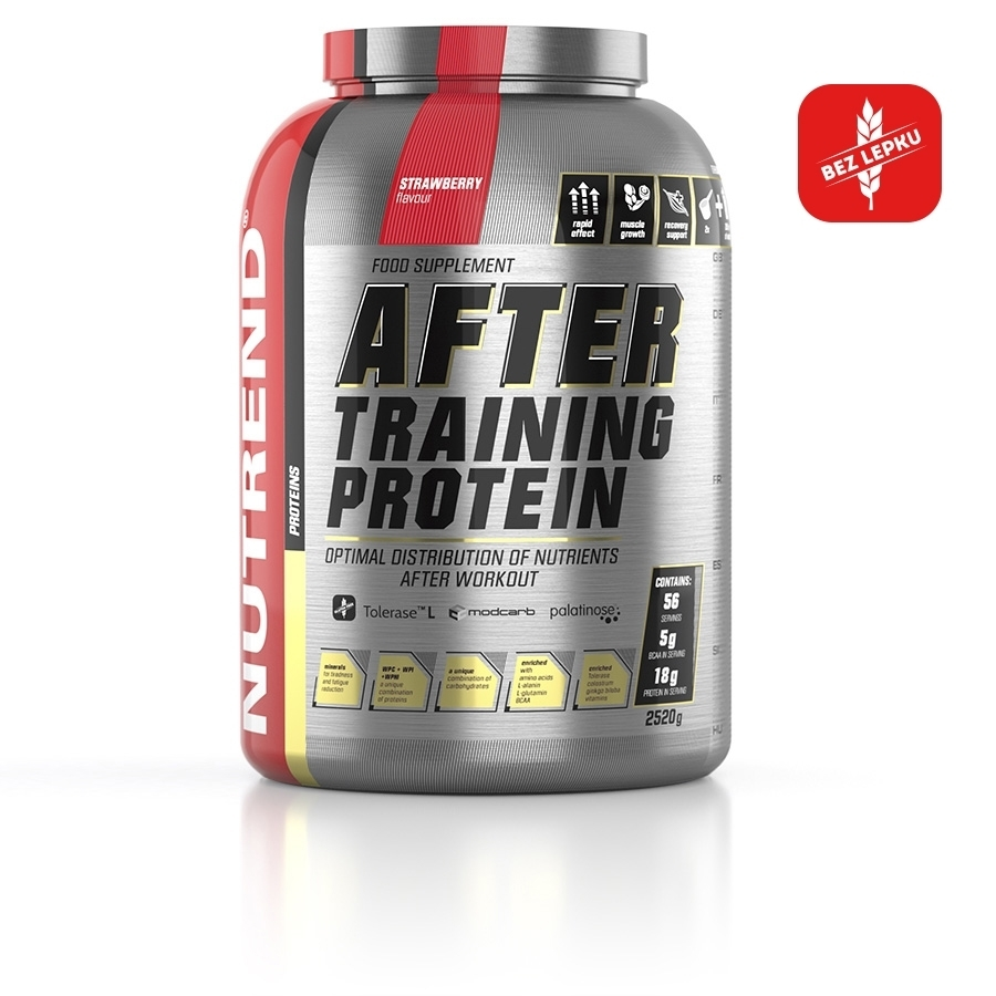 NUTREND After Training Protein 2520 g příchuť jahoda