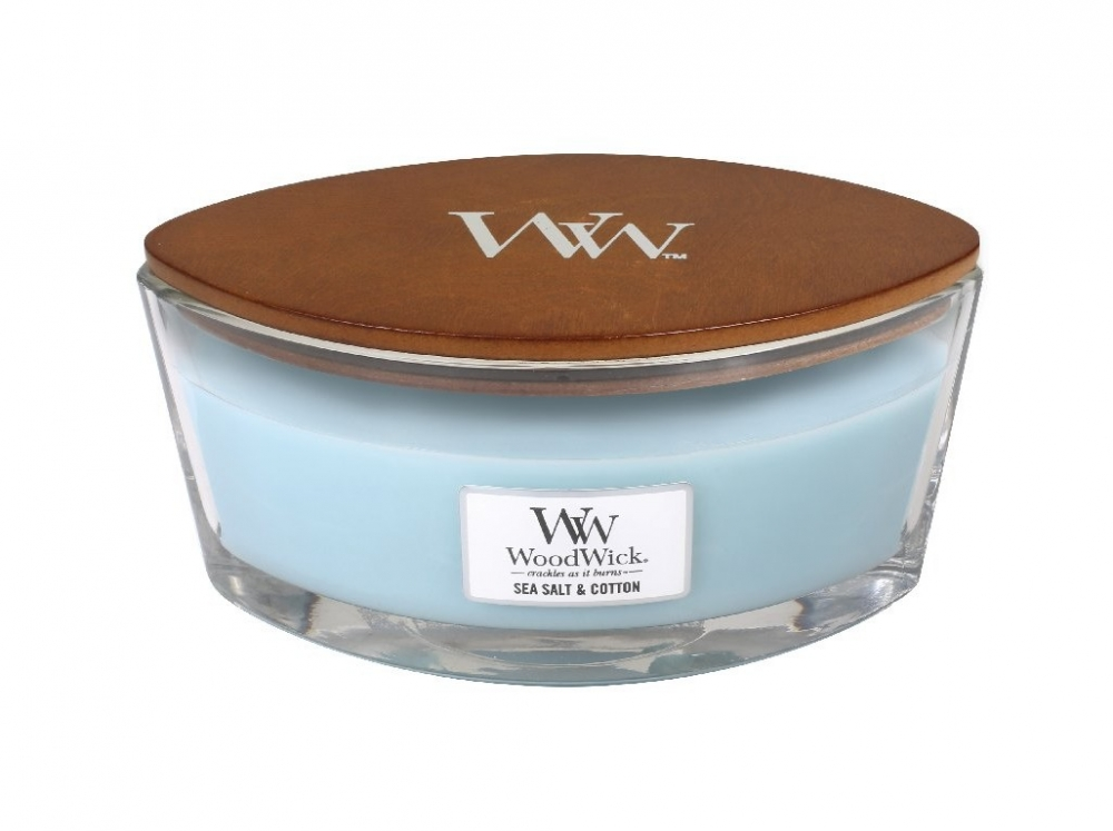 WoodWick Sea Salt & Cotton 453,6 g