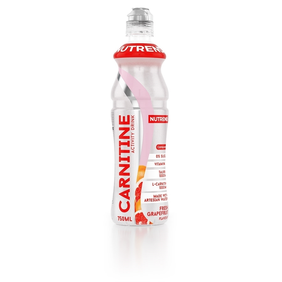 NUTREND Carnitine activity drink 750 ml fresh gre