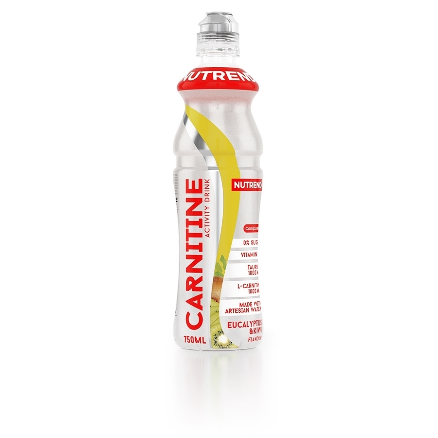 NUTREND Carnitine activity drink 750 ml eukalyptus+kiwi